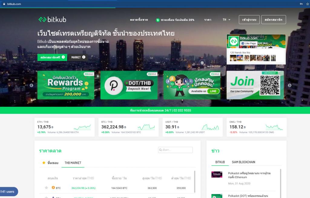 bitkub website 2020